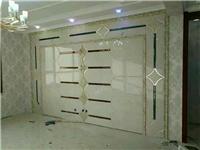 定制艺术玻璃电视背景墙银镜电视墙客厅电视墙客厅背景墙拼镜