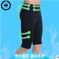 出口日本跑步健身褲外貿原單跑步褲廠家**定制五分褲男特價