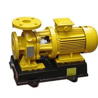 卧式GBW浓硫酸专用管道离心泵管道化工泵