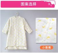 限时优惠婴儿睡袋 纯棉纱布可拆长袖夹棉宝宝睡袋 新品防踢被