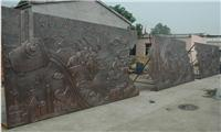 厂家生产学校文化浮雕 玻璃钢浮雕 仿铜壁画装饰 来图订制