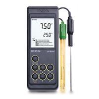 HI9125防水型便携式pH/ ORP/°C测定仪