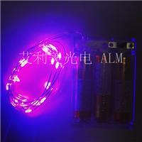 工厂直销 紫光2-10米铜线灯串电池盒 礼品 工艺品,圣诞节日用品直供 欧美热销