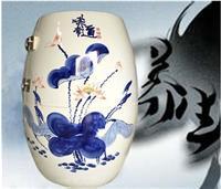 活瓷能量缸,陶瓷养生樽,负离子瓷蒸瓮,养生瓮生产定做养生翁