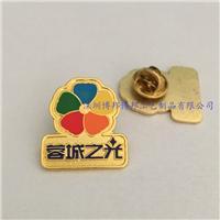 深圳金属胸章制作工厂公司LOGO徽章订做价格