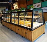 浙江杭州展柜厂家供应宁波地区面包展示柜蛋糕展示柜