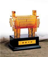 特色纪念品 琉璃鼎盛千秋 西安开业琉璃宝鼎礼品