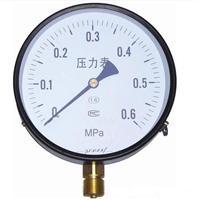 西安仪表厂铂科仪器一般压力表普通压力表Y-60价格优惠厂价销售
