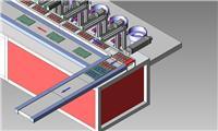 線路板自動組裝焊線流水線