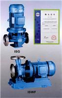 辽宁通达ISG、ISW型单级单吸直联管道离心泵知名管道泵品牌厂家