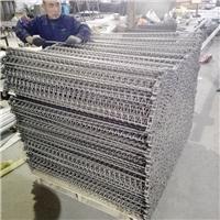 广东 清洗机螺旋网链定制 不锈钢烘干网带 碳钢链板厂家