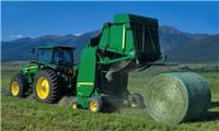 美国进口约翰迪尔割草压扁机采棉机设备国内专业报关公司