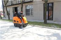 适用公园小区等地面清扫工作的中型智能驾驶式扫地机