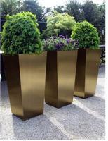 【广州室内外不锈钢花箱】方形 圆形 多边形等艺术花箱定做