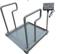上海300kg不锈钢轮椅称  带扶手医用透析称