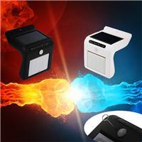 工厂私模LED太阳能感应灯 8灯/16灯超亮 人体红外感应 电商热销款