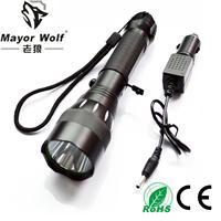 供应厂家直销 强光手电筒 户外照明骑行打猎用品CE认证手电筒