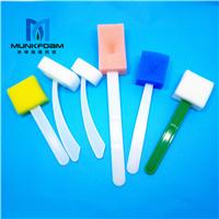 工厂定做绿色无菌无味牙科护理清洁海绵刷
