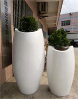 景观住宅落地花盆装饰玻璃钢艺术花盆广东原著雕塑厂家订制生产
