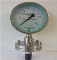 隔膜压力表YTP系列/高度防腐型隔膜压力表/厂家直销