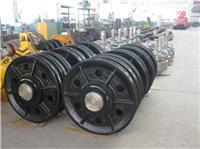 铸造厂家直销高端定制日立电梯配件 日立机房导向轮 日立对重轿顶反绳轮