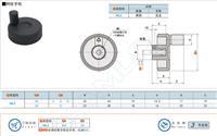 上隆东莞手轮厂家介绍背面波纹手轮特点及制作原理