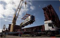 散杂货船上海到阿根廷港收EPC对外工程货国际项目货钢材车辆设备重件类货物海运物流