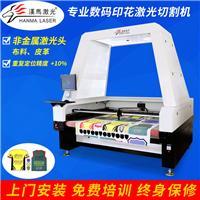 数码印花激光切割机 广州东莞布料视觉定位自动送料激光切割机