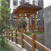 河南天目供应仿木栏杆,建筑护栏工艺品定制