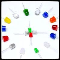 广东恒润光电直销供应全系列圆头LED灯珠,平头LED发光管,草帽LED灯珠,方形LED发光二极管,食人鱼LED灯珠