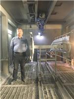 室外电梯喷漆机器人