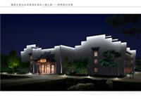古建筑夜景照明设计,古建筑照明设计
