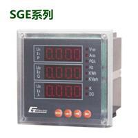 數顯多功能單三相電流電壓 SGE系列多功能電力儀表-上海中貴電氣