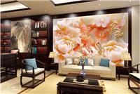 心安居3D背景墙可做平面3D效果和浮雕3D效果