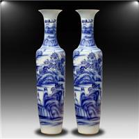 陕西青花瓷开业大花瓶   钟元大花瓶销售