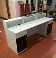 合肥板式前臺辦公桌定做*市店面收銀臺柜臺吧臺出售