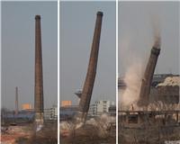 衡水煙囪人工拆除公司