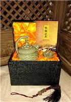 西安耀州青釉秘色瓷倒流壶良心壶龙头杯 会议商务高档礼品