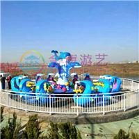 儿童大型游乐设备激战鲨鱼岛