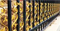 固格瀾柵廠家供貨戶外鋅鋼帶花護欄美觀便宜