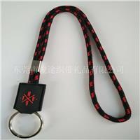 俊途厂家**定做间色的圆绳厂牌挂带