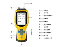 便攜式特殊氣體檢測分析儀PGD-70可檢測5種氣體