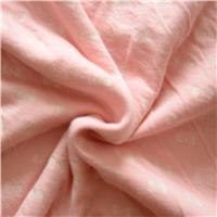 40S有机棉氨纶汗布 印花针织面料 柔软舒适婴幼儿服装T恤内衣睡衣面料