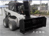 徐州艾迪爾生產定制冬季裝載機配3米拋雪機