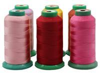 广东厂家4股皮革沙发涤纶高强线 裁缝线缝包线 家纺缝纫线