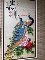 8D浮雕背景墙画