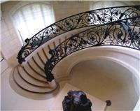 固格瀾柵 安徽滁州精品鐵藝樓梯護欄 室內樓梯欄桿 直供