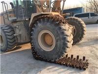 供應50輪胎防滑保護鏈條 裝載機輪胎保護鏈生產廠家 輪胎防滑保護