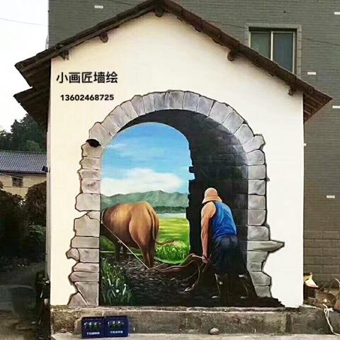 河源手绘壁画设计公司,报价合理效果好