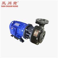 臺灣三川宏耐腐蝕泵 非自吸式耐酸堿泵-NAB系列